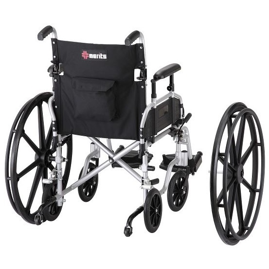 Convertible Manual Wheelchair / Transport Chair