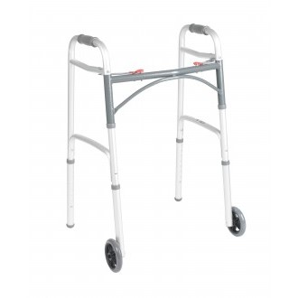 Drive Two Button Folding Walker with 5