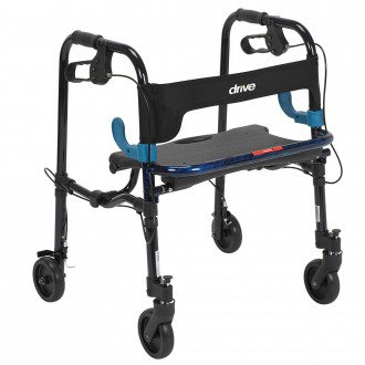 Drive Clever-Lite Easy Fold Rollator Enlarged